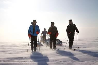 Skitur i Nordvestpassasjen