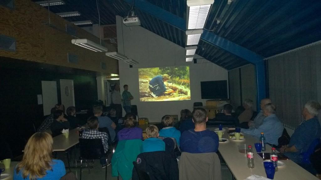 Publikum i salen fulgte spent med på foredragsholdere fra Drømmeturen