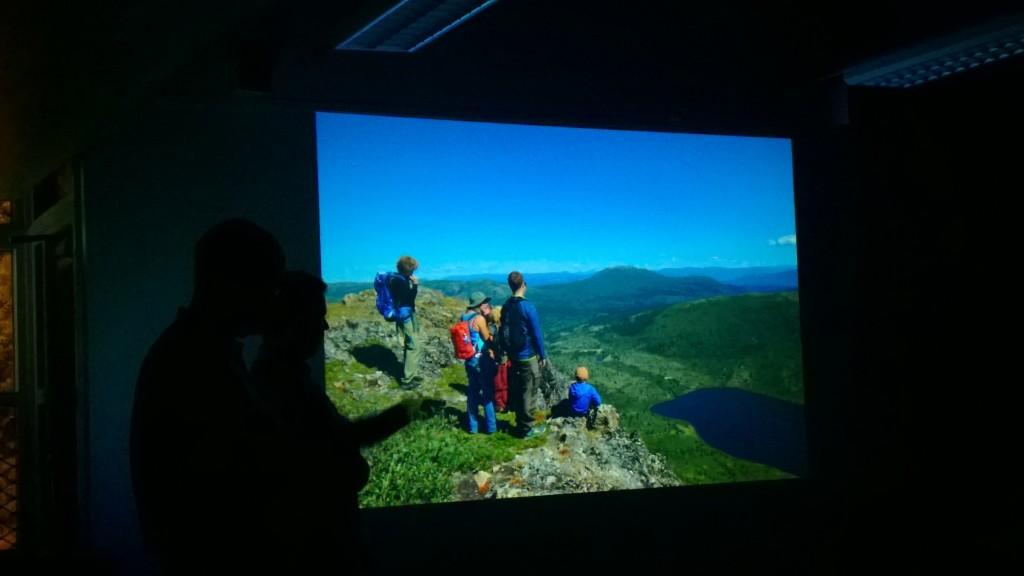 NRK teamet og deltakere på Coal Ridge i Yukon