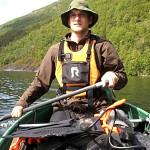 Paul Barthel i Norge-Sverige på tvers