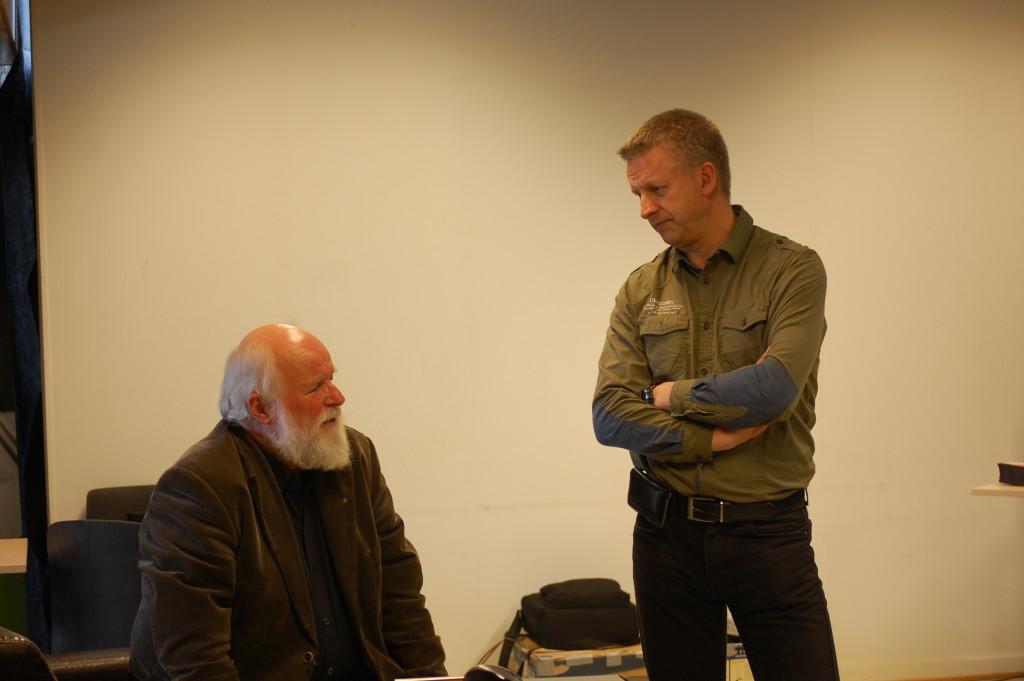 Foredragholderne Øystein Køhn og Morten Brekke