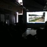 Foredraget fra Snake River som viser sjøflyet de brukte inn i fjellene