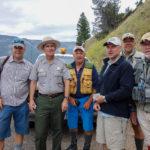 Park Warden med fiskere