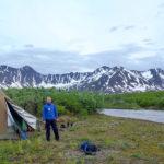 Villmarkscamp ved Tikchik River